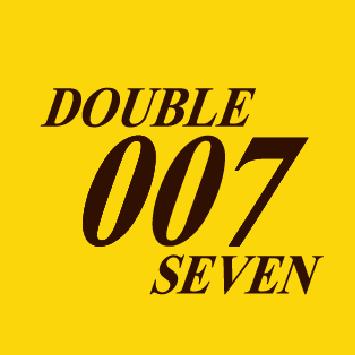007(ダブルオーセブン)のロゴ
